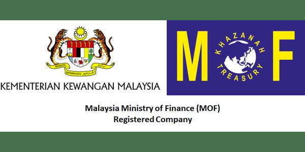Malaysia MOF Registered Company logo
